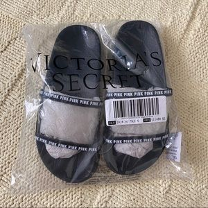 Victoria Secret PINK Clear Logo Slides S (5/6)